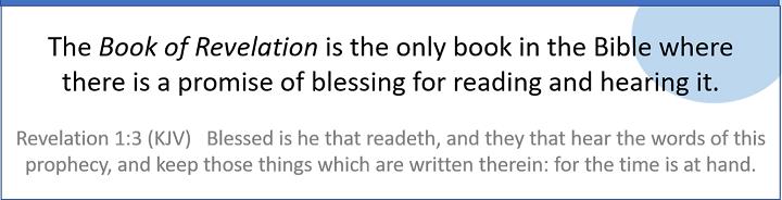 The Book of Revelation Blessing