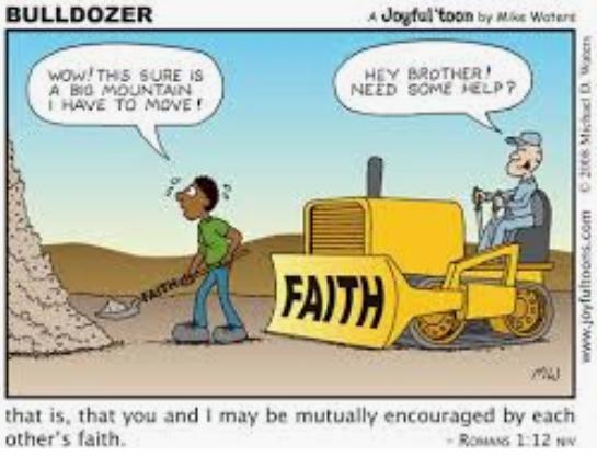 Faith Cartoon