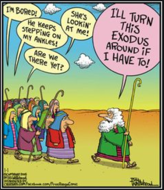 Moses threatens to turn back