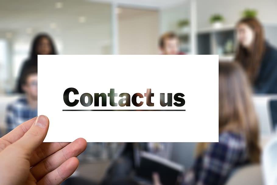 Contact us media